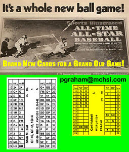 Avalon Hill Sports Illustrated Superstar Baseball SI new for 2018
