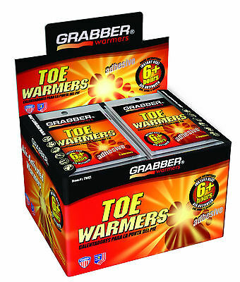 80 Grabber 40 Pairs 6 + Hours Adhesive Toe Warmers Hour Adhesive Toe Warmers