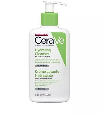 CeraVe Hydrating Cleanser, 236ml. Cleasing Face Wash For Normal To Dry