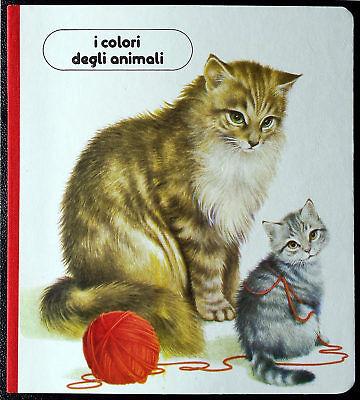 Albo educativo per bambini 'I colori degli animali', Ed. Valentina, 1987