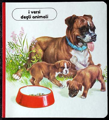 Albo educativo per bambini 'I versi degli animali', Ed. Valentina, 1987