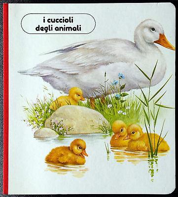 Albo educativo per bambini 'I cuccioli degli animali', Ed. Valentina, 1987