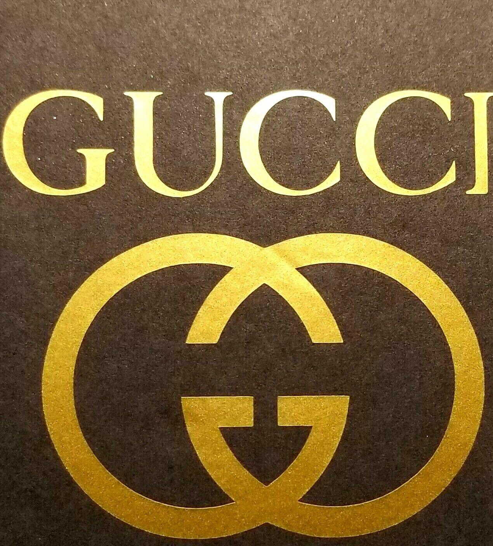 Home Decoration - GUCCI Cut Vinyl Sticker/Decal