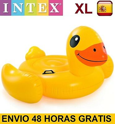 Flotador hinchable gigante PATO INTEX diversion playa o piscina