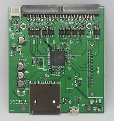 SCSI2SD v5.1 - bundle with 16GB SanDisk SD card