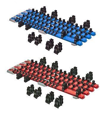 Apt Ernst 8470 Rd   8471 Bl Twist Lock Socket Organizer Red   Blue Systems