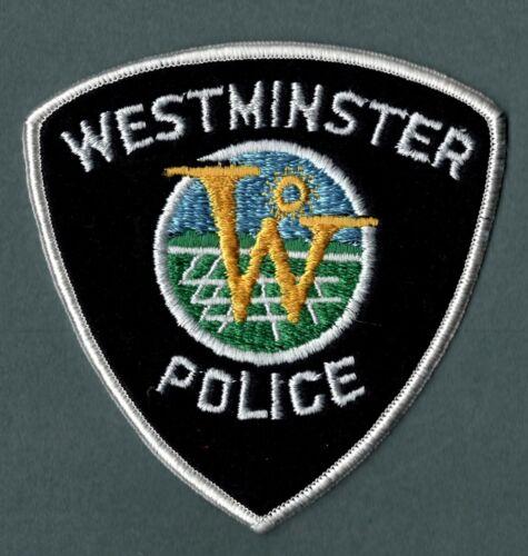 Westminster Colorado Police Patch