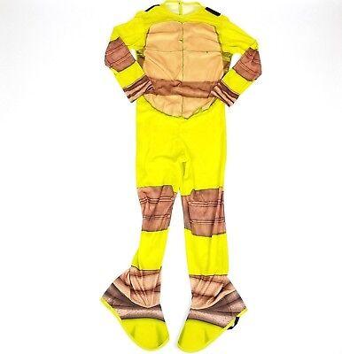 Teenage Ninja Turtle Halloween Costume TMNT Rubies Boys Medium Michaelangelo