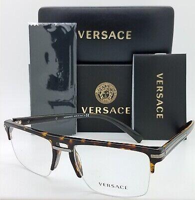 NEW Versace RX Frame Classic Glasses VE3269 108 55 Havana AUTHENTIC 3269 classic