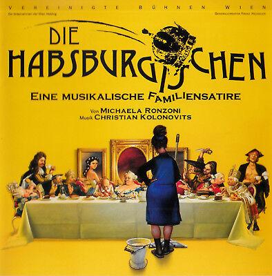 Wien Cast (CD Die Habsburgischen - Ein Musikalische Familiensatire-Original Wien Cast 2007)