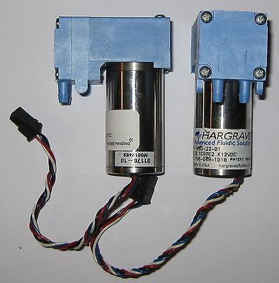 2 X Mini Diaphragm Single Head Air And Gas Hargraves Pump - 6 Lmin - 12 V Dc