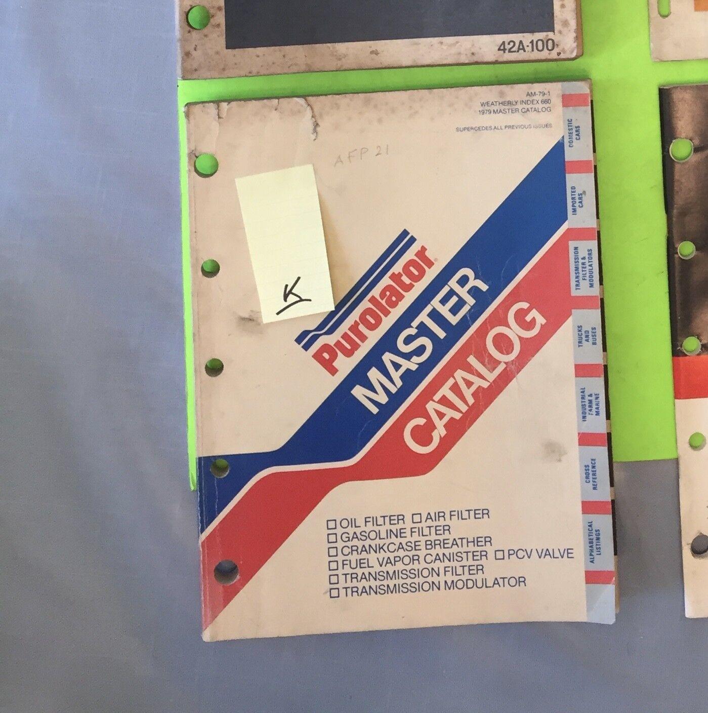 Purolator Master filter catalog.  1979.     Item:  9215k