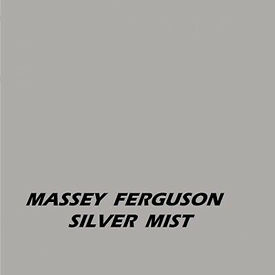 Massey Ferguson Silver Mist Tractor Agricultural Machinery Enamel Gloss Paint