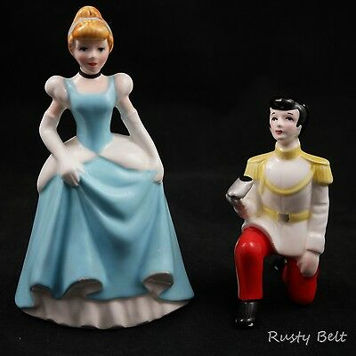 Cinderella and Her Prince Vintage Disney Made in Japan