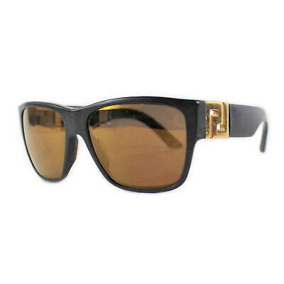 Versace 4296 Sand Black Mirror Bronze Tinted Lens Sunglasses Frames Mirrored