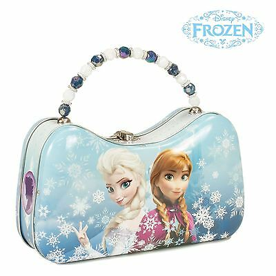 Frozen Anna and Elsa Tin Scoop Purse Lunchbox Official Tin Box Company Gift - Anna And Elsa Halloween