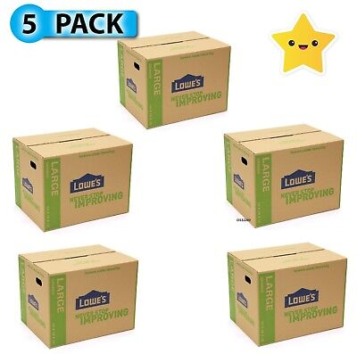 Large Cardboard Boxes 24 X 18 Moving Shipping Packing Storage Mail Pack Of 5
