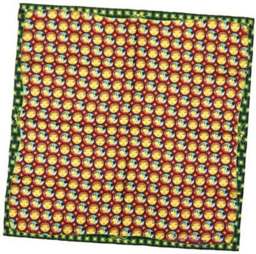 """Foulard louis vuitton os gemeos carre mosaic scarf 86 cm silk 34"""" inch"""