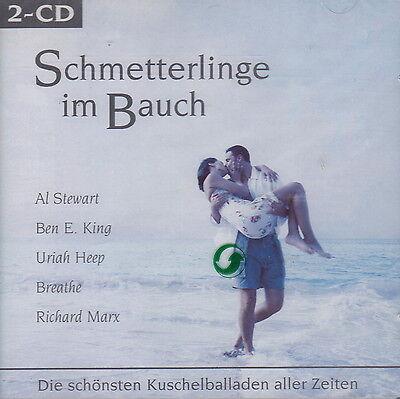 Schmetterlinge im Bauch: Best Romantic Ballads of All Time (2 CDs, Disky)