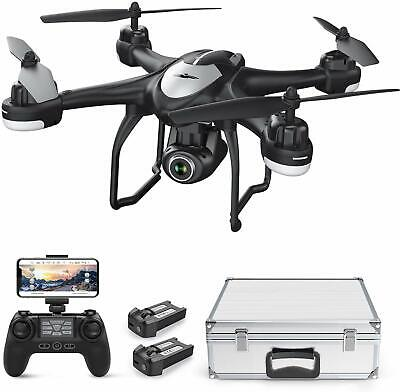 T18 Drone with 1080P HD WiFi Camera GPS FPV RC Quadcopter with 2 Batteries/For fear that b if