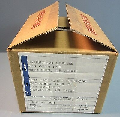 Box Of 1000 Fairbanks Scale 16288 Carbonless Paper 4 Part Ncr 3 1516 X 7 18