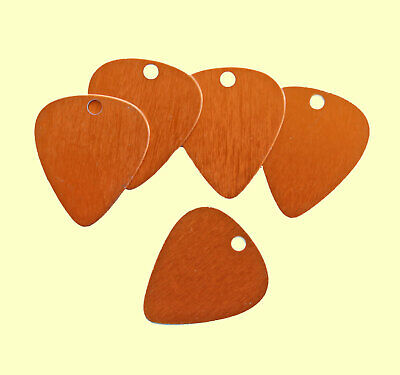 MT165 10 Stamping Tags in Anodized Aluminum Bronze Guitar Picks