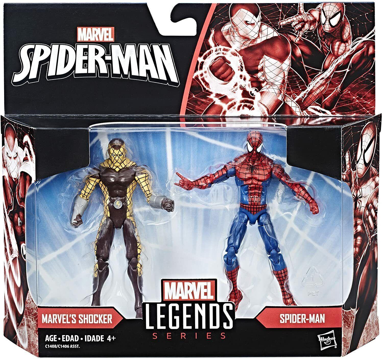 """Marvel Legends 3.75"""" Spider-Man Homecoming & Shocker 2-pack"""
