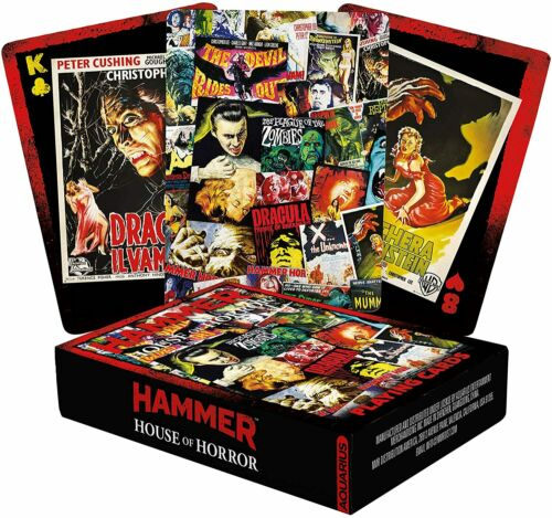 Hammer House of Horror set of 52 playing cards + jokers (nm)