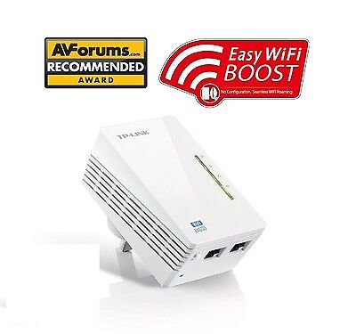 TP-LINK  300Mbps AV600 WiFi Powerline Range Extender Gaming Adapter TL-WPA4220