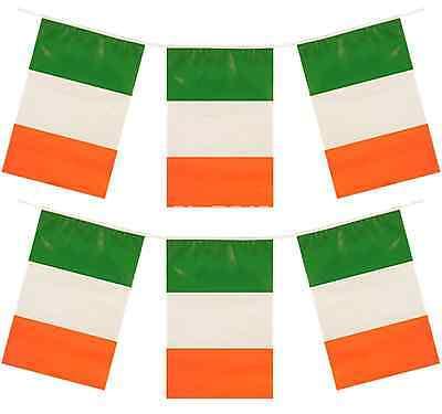 120ft 10 12ft St.Patricks Day Flagge Party Dekoration Irland QR36 ()