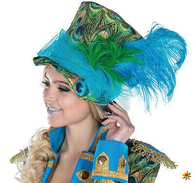 ylinder Hut Kostüm-Zubehör Fasching Karneval  (Pfau Kostüm Zubehör)