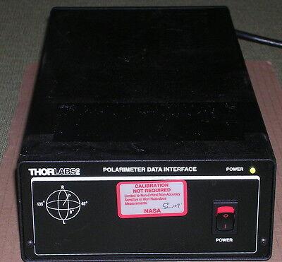 Thorlabs Polarimeter Data Interface Nice