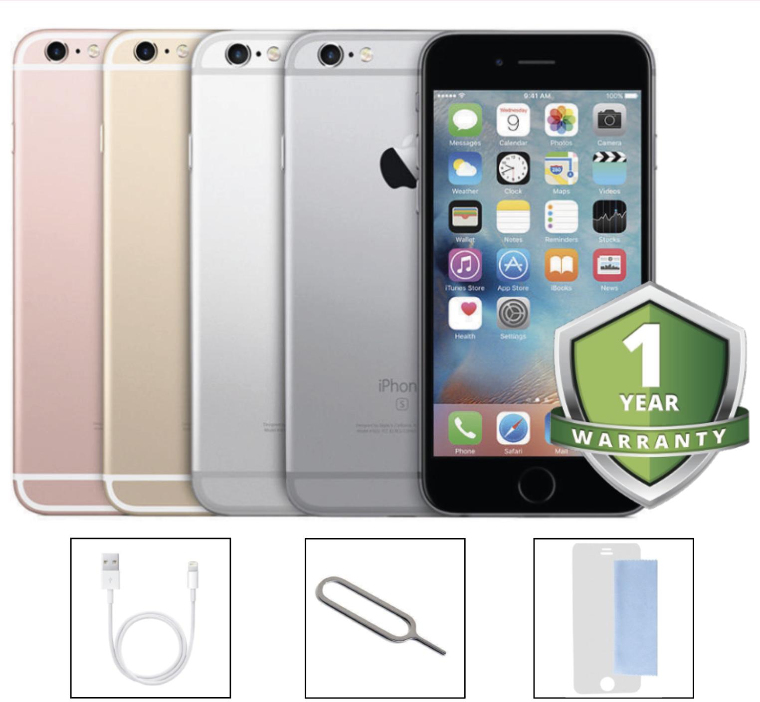 6 von 10 : Apple iPhone 6s 16GB 32GB 64GB 128GB Unlocked SIM Free Smartphone Various Grades • 68,45 €
