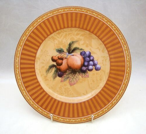 "Fitz & Floyd Classic Choices TUSCANY ""Intaglia"" Salad Plate 9 1/4"" NEW w Sticker"