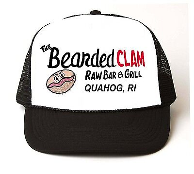 BEARDED CLAM Trucker HAT Vintage Sexy Adult Halloween - Clam Hat