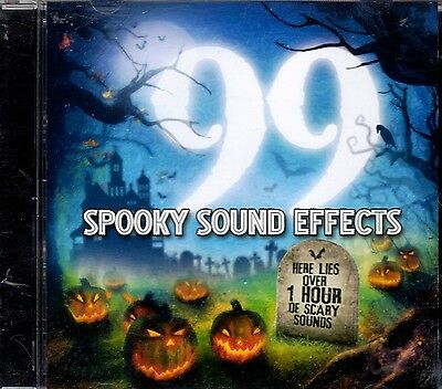 99 SPOOKY SOUND EFFECTS OVER 1 HOUR OF HAUNTED HALLOWEEN SOUNDS & MUSIC! OOP/NEW - Halloween 1 Music