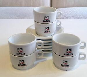 Lavazza Cups and Saucers Set - NEW Hillsdale Botany Bay Area Preview