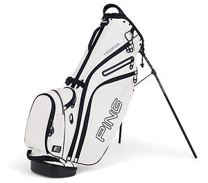 NEW Ping HOOFER Carry Stand WHITE Golf Bag
