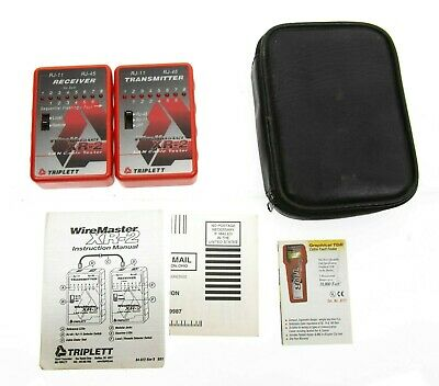 Triplett Xr-2 Lan Cable Tester Wire Master