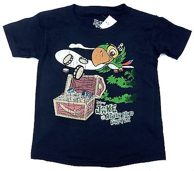 Disney Jake and the Neverland Pirates Treasure Infant Toddler T-Shirt 2T-3T-4T - Jake And The Neverland Pirate Shirt