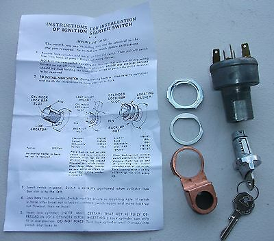 NEW IGNITION SWITCH BARREL N KEYS FITS FE FC FB EK EJ EH HR HT HG HK LC HOLDEN