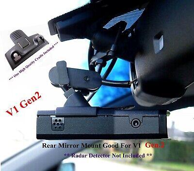 Bonito soporte de espejo trasero para Valentine One V1 Gen 2 cuna de detector de radar incluida