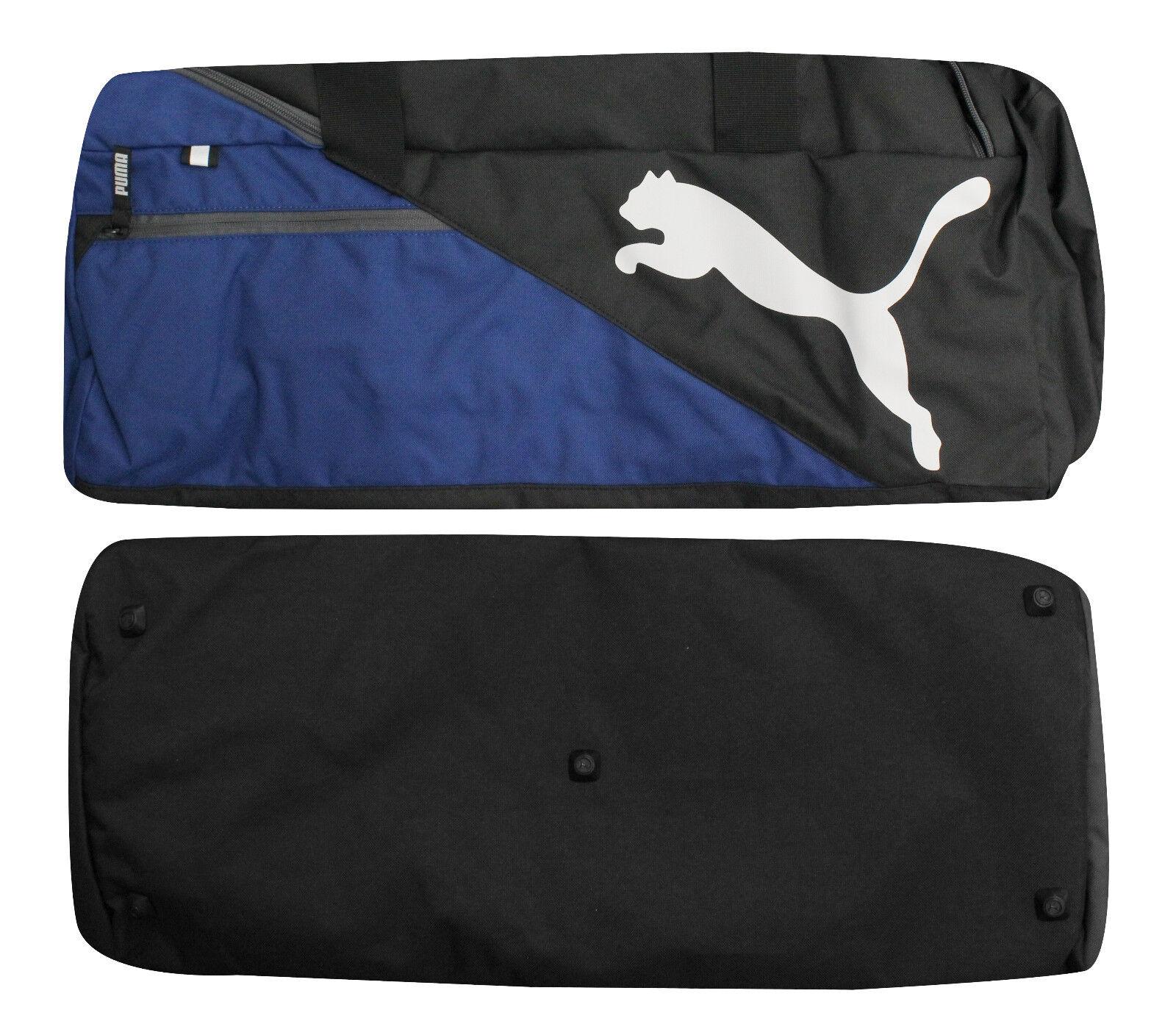 3ebf186c1423 Puma Fundamentals Sports M Mens Unisex Duffle Gym Bag Blue Black 073395 03  CC10 фото