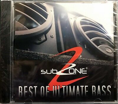 - NEW SUBZONE - Best of Ultimate Bass - CD