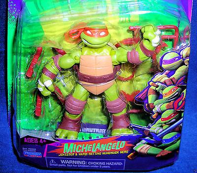 Nickelodeon Michelangelo Teenage Mutant Ninja Turtles 2012 Jokester Nunchuck New ()