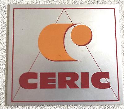 Ceric Technologies Building Material Producer Aluminum Sticker 3-12 X 4
