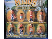Blister Card package Complete set of 8 Mijos series # 2 Figures Hey Homies