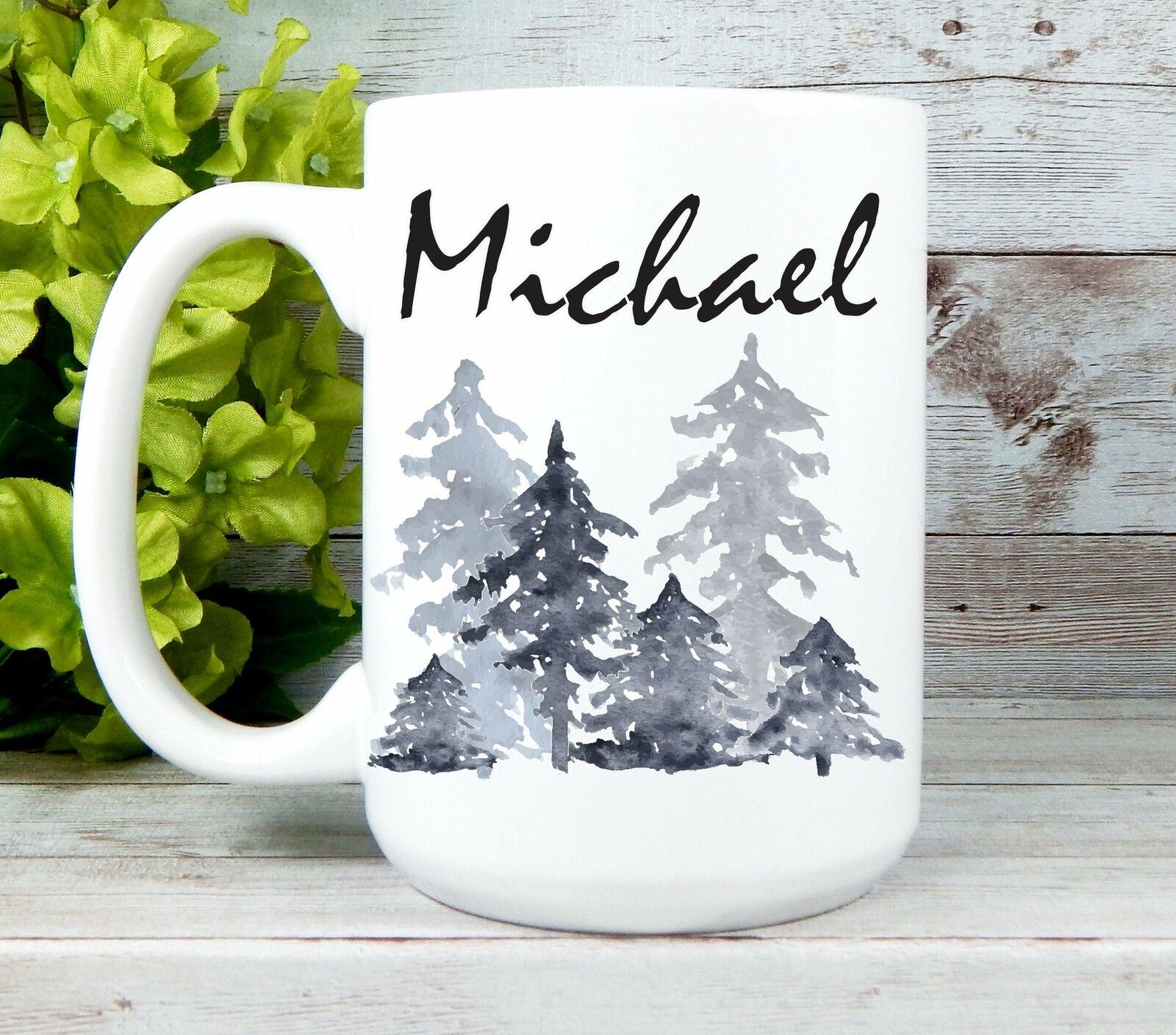 Personalized Mugs For Men Mens Coffee Mugs Nature Mug Birthd