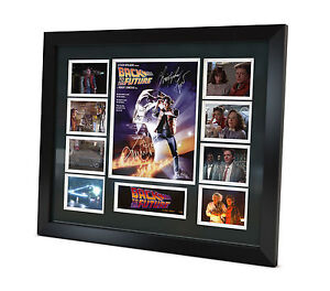Back to the Future Signed Photo movie memorabilia Limited Edition Framed