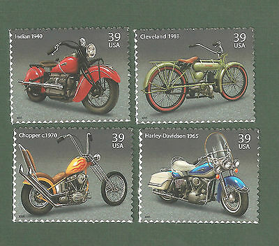 4085-4088 MOTORCYCLES SET OF 4 MINT/NH FREE SHIPPING OFFER